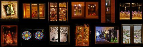 Adventsfenster im Niklausen